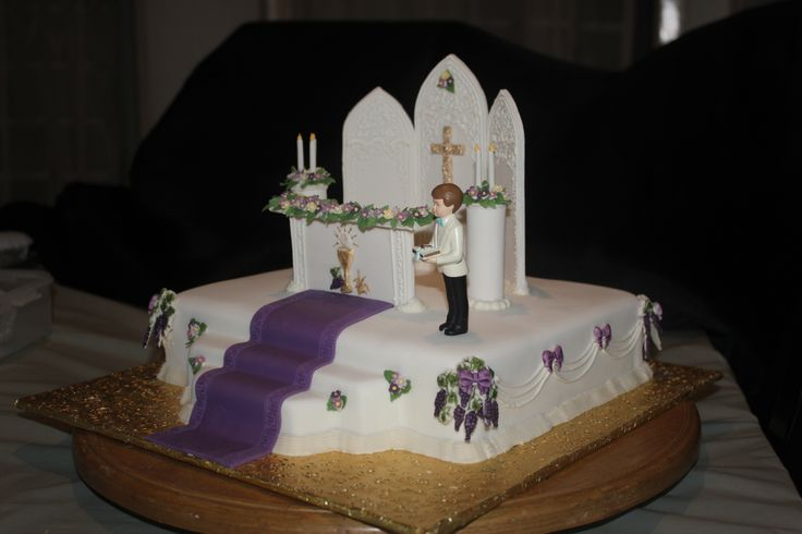Altar First Holy Communion Cake