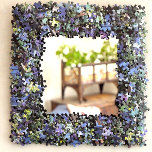 Image result for Jigsaw Puzzles made into picture frames