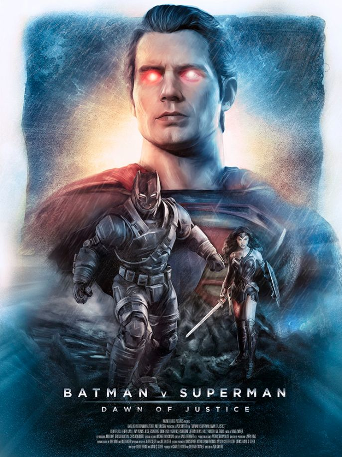 Rich Davies - Batman vs Superman
