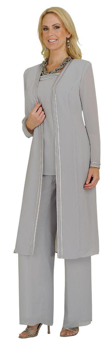 Style 13062 Silver Pantsuit