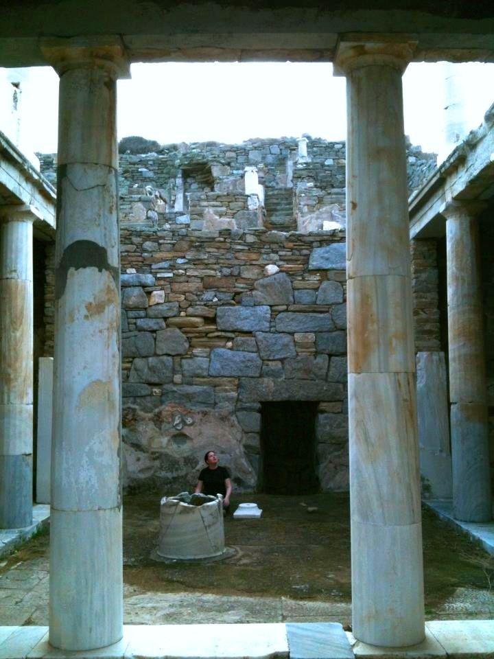 House of Hermes - Delos, Greece