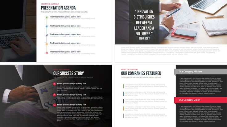 Company Profile Free PowerPoint Template SlideBazaar Free - profile templates