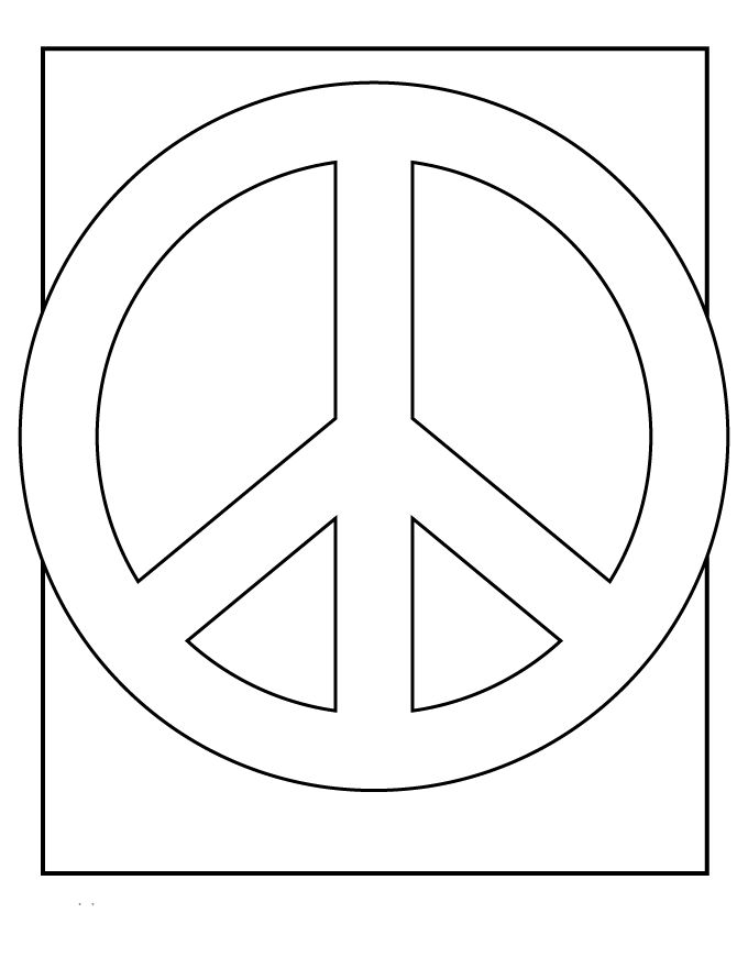 peace signs coloring pagesgif 680880 - Peace Sign Coloring Pages