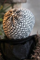 Perfect in Grey and Off-White...Ravelry: Snow Ghost pattern by Aimee Alexander