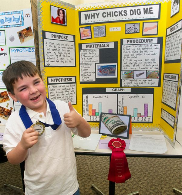 27 Funny Science Fair Projects That Win in Their Own Right -