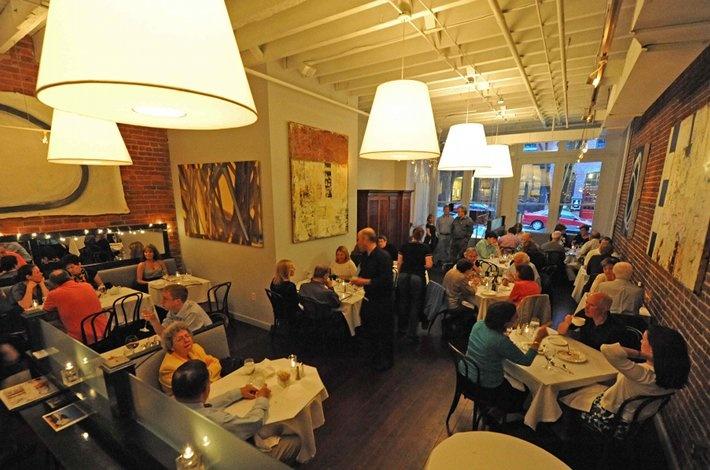 Bistro Bobette.  Excellent French restaurant in Richmond, VA.
