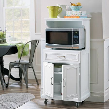 Hampshire Appliance/Microwave Cart with Storage