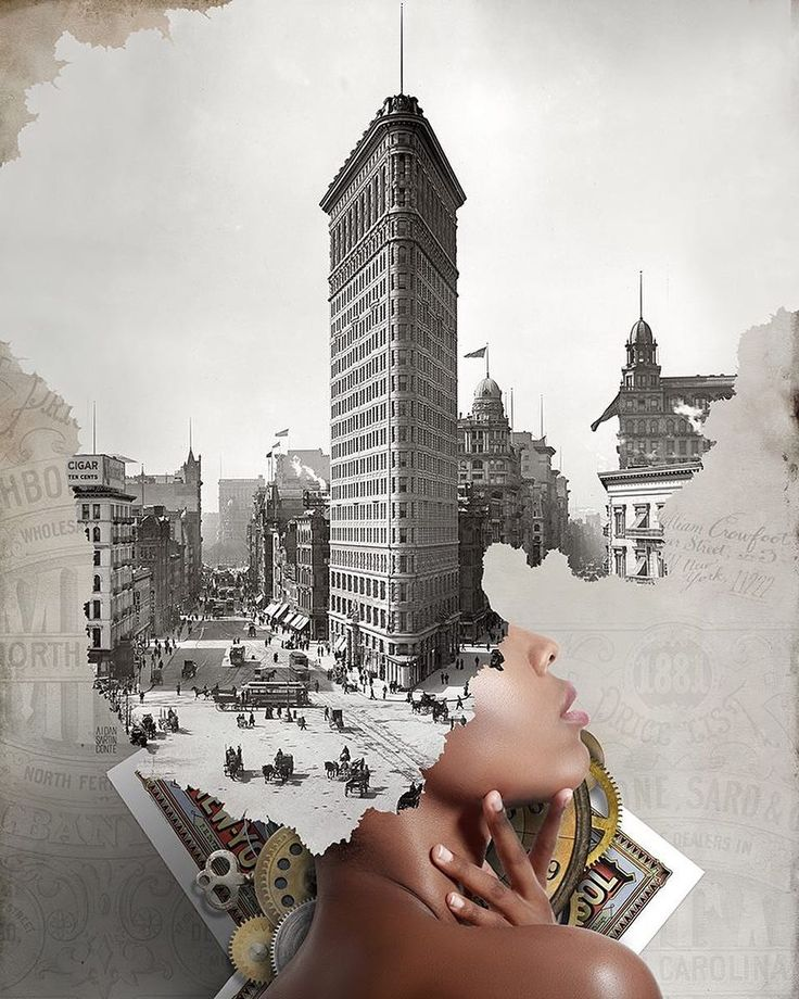 Surreal Photo Collages by Aidan Sartin Conte #inspiration #photography