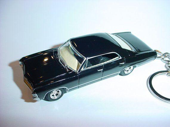 3d 1967 Chevrolet Impala Supernatural Custom Keychain By Brian