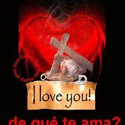 Imagen Gif Corazon De Amor Jesus Murio Por Amor a Ti