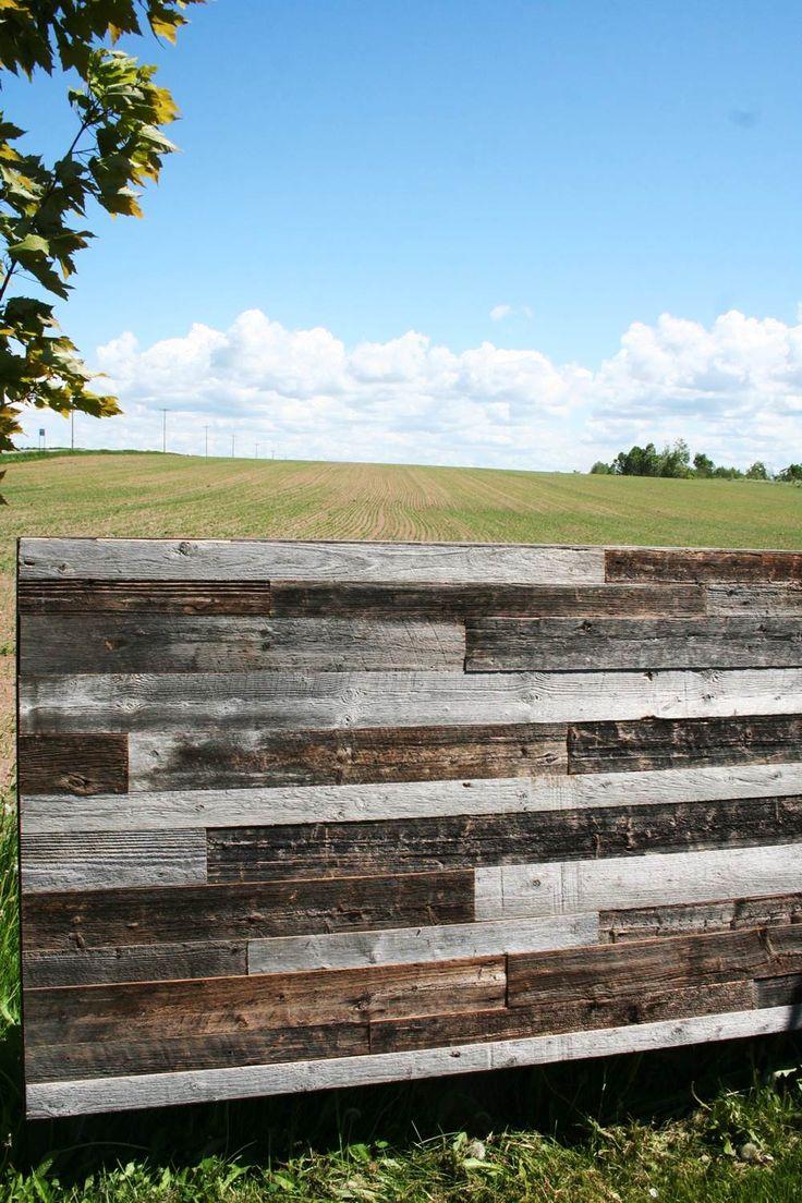 Mur bois de grange - Espace-Bois -