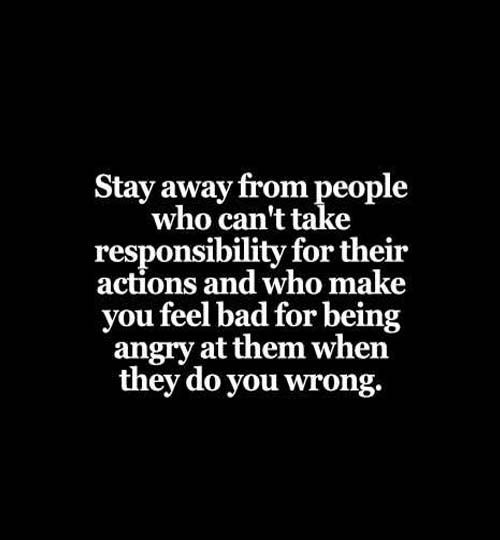 Stay Away from People Who Can't Take