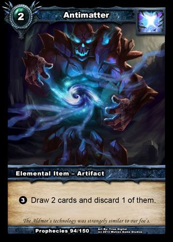 Hidden Potential In Cards: Antimatter - shadowera.net