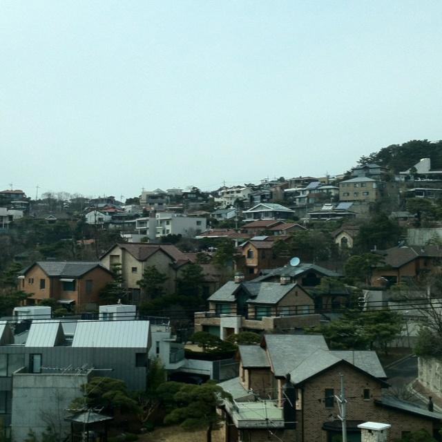 Roofs in Seoul. Korea