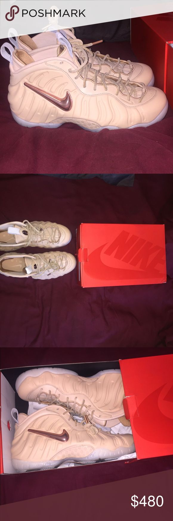 Nike Foamposite Pro All-Star Vachetta Tan Brand New with original everything amazing looking shoes sz 10 Nike Shoes Sneakers
