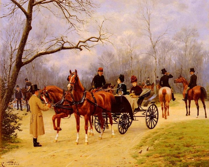Rendezvous at the Meet  by Jean Richard Goubie (ARC)