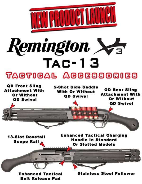 The Remington TAC-13 is already proving to be an incredibly popular