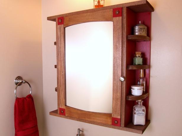 Luxury Corner Medicine Cabinet Plans