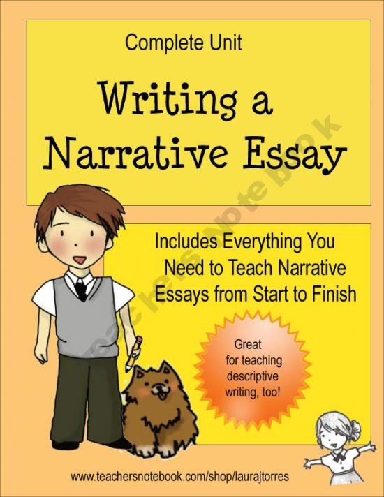 narrative essay how to start