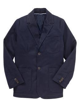 Uniform twill blazer | Gap