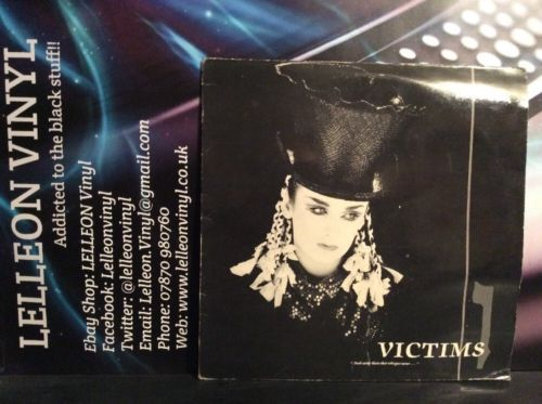 "Culture Club Victims 12"" Single VS641-12 Pop 80's Music:Records:12'' Singles:Pop:1980s"