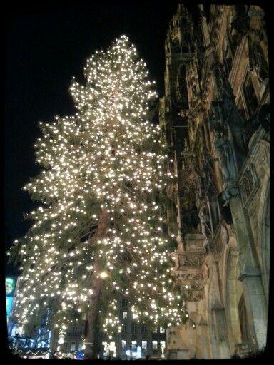 Marieplatz in Munchen