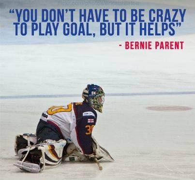 goalie quote
