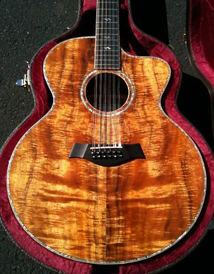 12 string taylor guitar! The prettiest thing i have ever seen in my life! <3 must have!