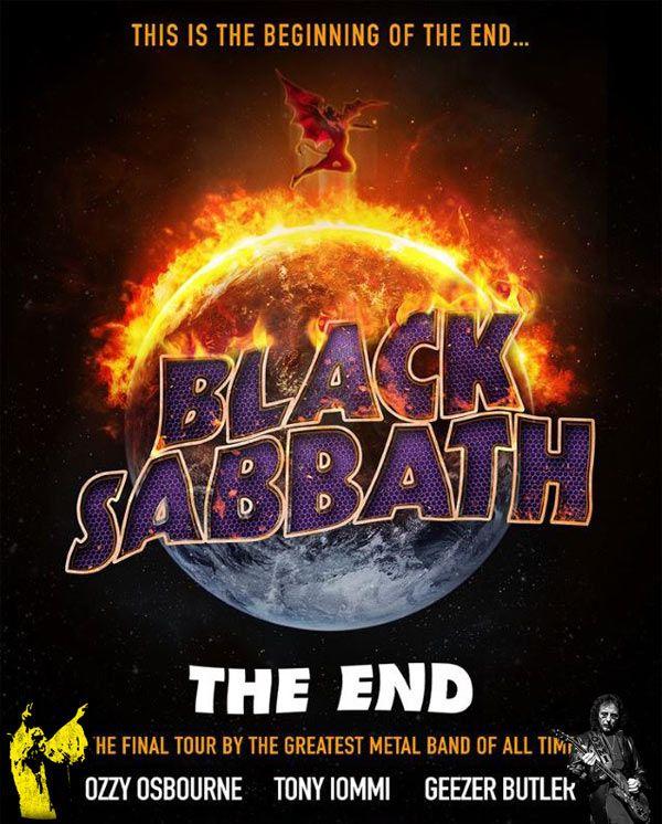 BLACK SABBATH Announces Second Batch Of 'The End' U.S. Tour Dates For 2016 | Concert Tour