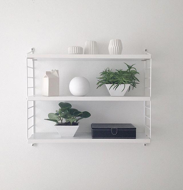 My #shelfie for today ♡ #myhome #interiordesign #monochrome #minimalism #minimalist #simple #stringsystem @stringfurniture #blackandwhite #bmw #homestyle #instahome #home #interior #interiors #cooee @catcooee #asaselection #monotone #nordic