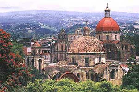 Cuernavaca, Mexico  Such a pretty town, settled in the mountains.  Used to visit it often!    --  langlink.com