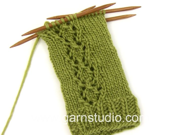 DROPS Knitting Tutorial: How to work the chart A.1 in DROPS Extra 0-1085 Sk...