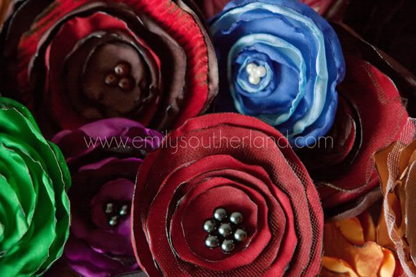 "Maybe not ""with"" the girls but ""for"" the girls...Flower Pin, How To Make Handmade Flower, Hair Flower, Fabrics Flower, Flower Crafts, Homemade Flower, Flower Flower, Silk Flower, Flower Hair"