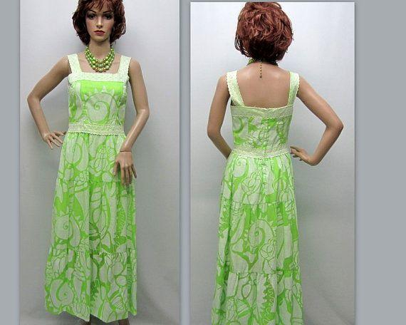 Vintage 70s Boho Dress 70s Peasant Dress 70s by RosasVintageFinds