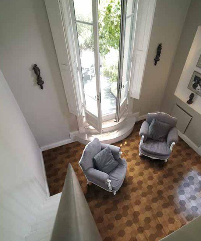 NON IL CLASSICO PARQUET !Una casa non è un iglù- Xilo1934 design