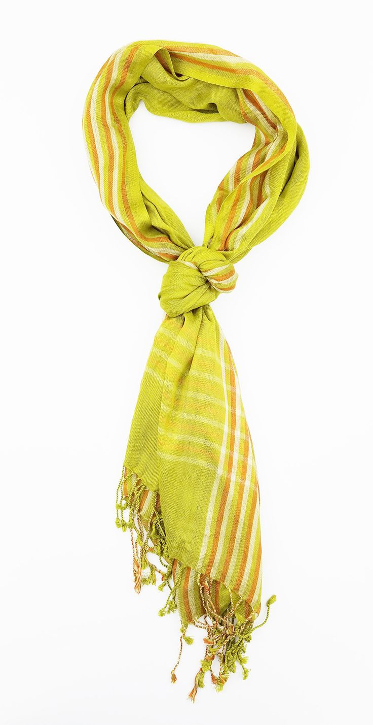 Women Lightweight Soft Casual Checkered Plaid Pattern Scarf w/Tassels