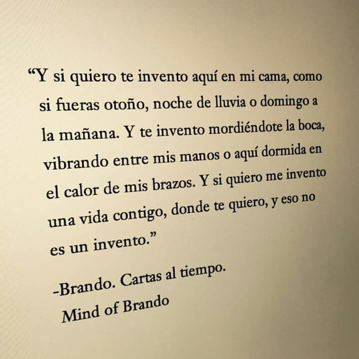 Brando. Cartas al tiempo