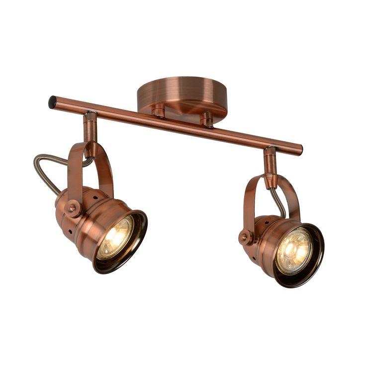 Bestel de Landelijke plafondspot Aldo, Koper op Lampgigant.nl ✓ Snel gratis bezorgd ✓ Grootste collectie in NL & BE!