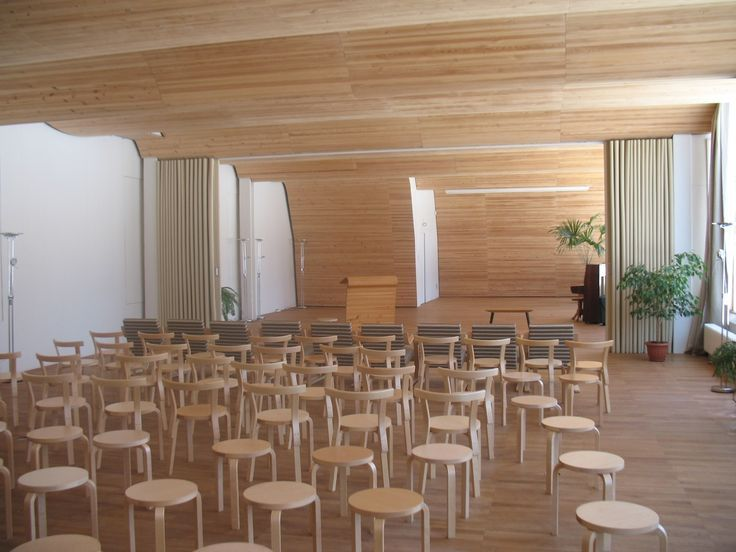 Library in Vyborg by Alvar Aalto