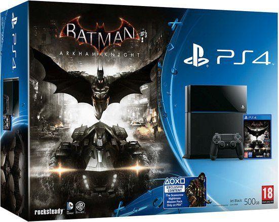Batman Arkham Knight PS4 Bundles