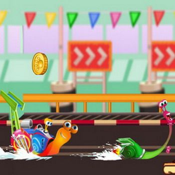 Snail Turbo is racing with his friends, can you help him to win the match?