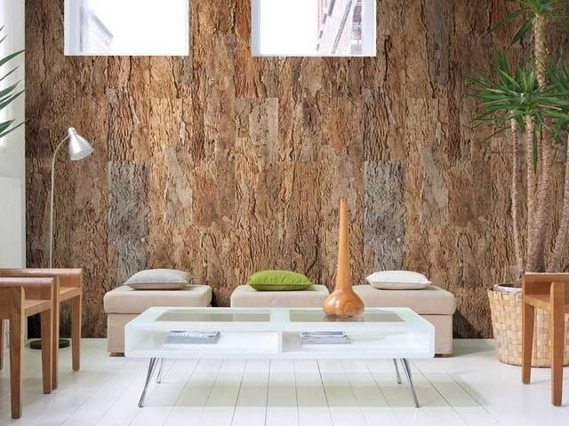 30 best cork interiors images on pinterest cork cork for Cork flooring on walls