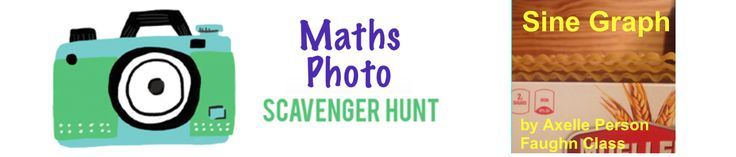 Math is scary. Go on a Math Photo Scavenger Hunt. Not scary, FUN!
