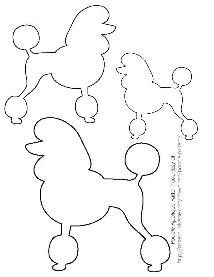 Sock Hop Poodle Skirt - The Ribbon Retreat Blog
