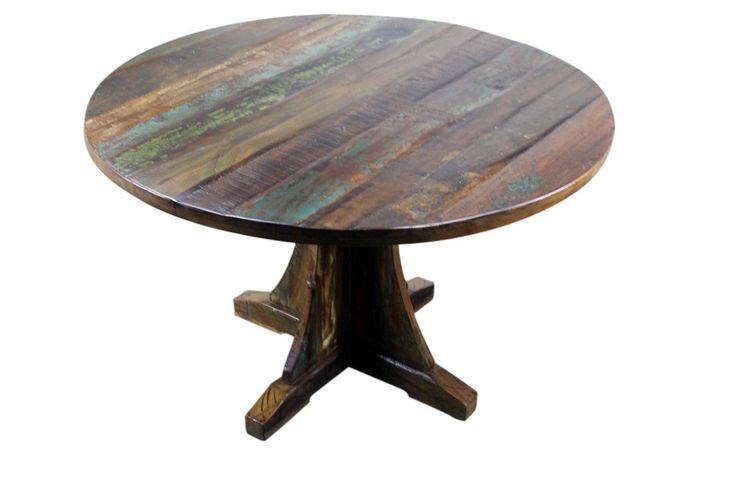 1000 ideas about Round Wood Dining Table on Pinterest  : 7307684072a1317cb61f6ed0d12298a6 from www.pinterest.com size 736 x 490 jpeg 26kB