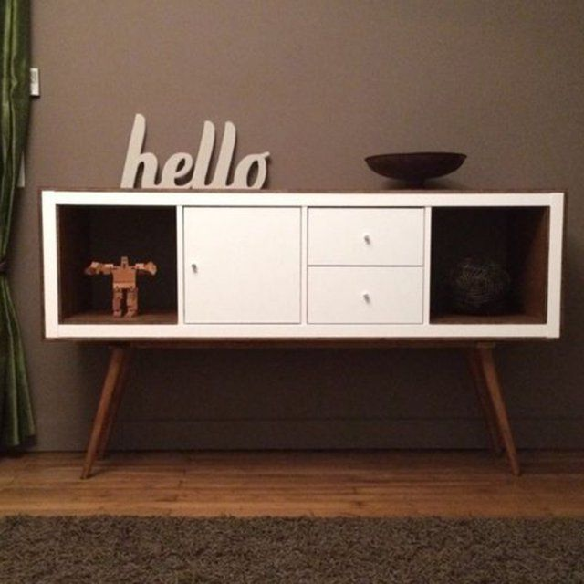 les plus belles customisations de meubles ikea ikea hack salons and living furniture. Black Bedroom Furniture Sets. Home Design Ideas