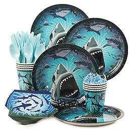 Shark Party Decorations, Supplies and Ideas | WholesalePartySupplies.com