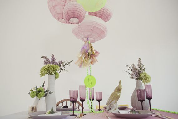 vintage neon party ideas | concept and design by Knot and Pop | 100 Layer Cake