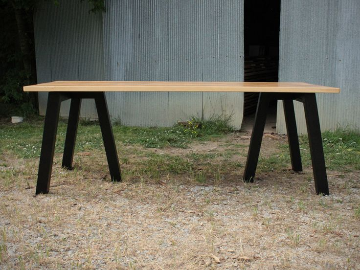 Exceptional Image Of SawHorse Table