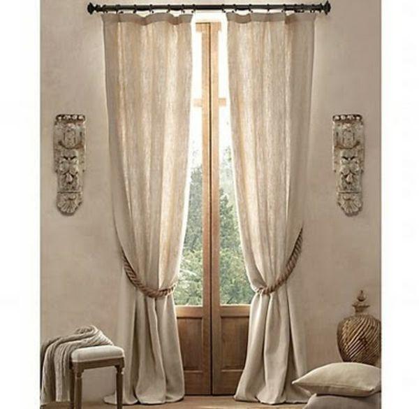 les 25 meilleures id es concernant rideaux en lin sur. Black Bedroom Furniture Sets. Home Design Ideas